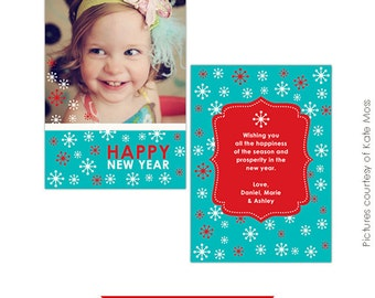 INSTANT DOWNLOAD - Psd Multipurpose Card Template - Smiles - E202