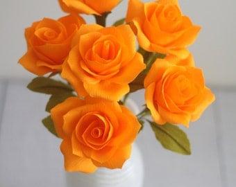 Paper roses- handmade paper flower