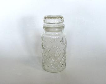 Planter's Mr. Peanut Collectible Clear Glass Jar 1983, Decorative Decanter Storage Kitchen Decor