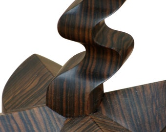 Nurture The Flame With Macassar Ebony Candle Stands