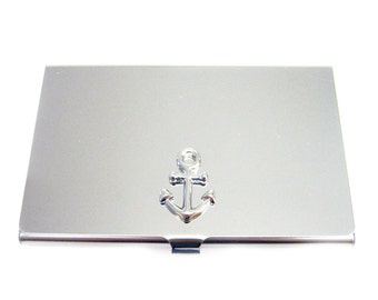 Nautical Ship Anchor Business Card Holder