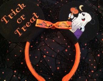 Disney Ears, Disney Halloween Mickey Mouse Ears Headband / Minnie Mouse Ears Headbands