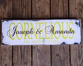 Established sign. Family name sign.