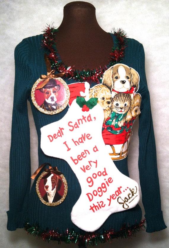 xxl dog christmas sweater uk