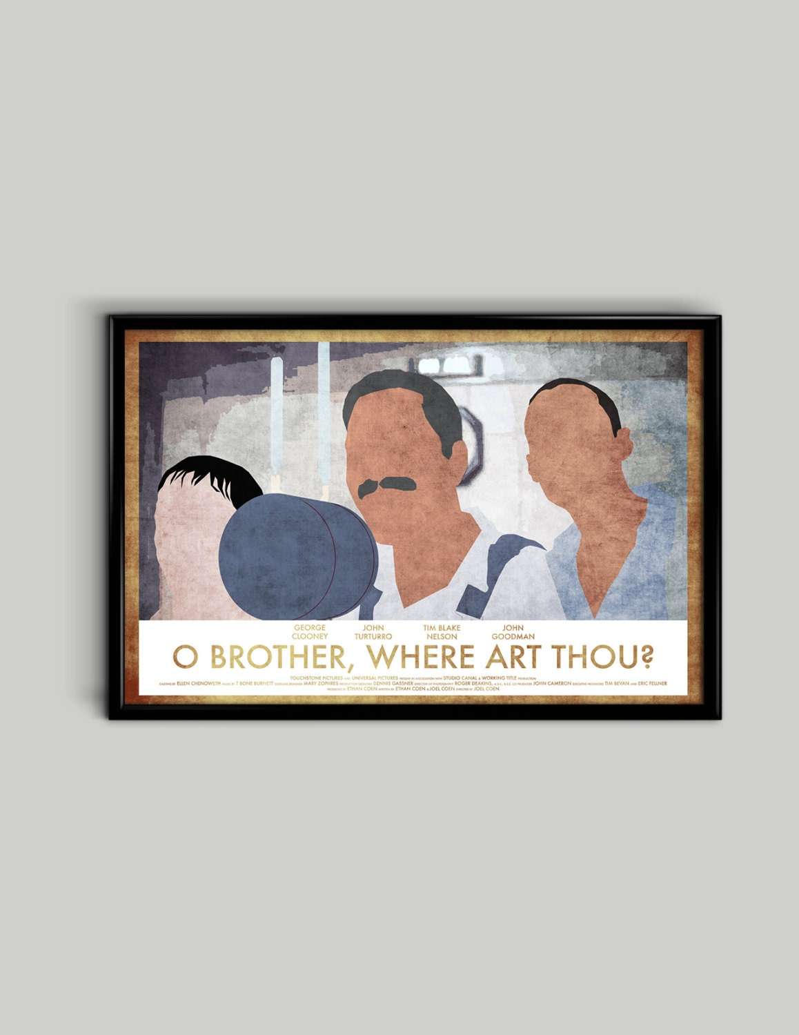 O Brother, Where Art Thou Movie Poster O Brother Where Art Th...
