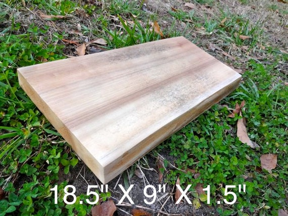 Items Similar To Live Edge Poplar Solid Hardwood Wood Slab