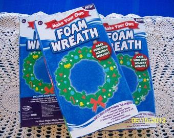 Make Your Own Foam Wreath Kit