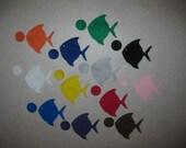 Felt Fish Bubble Color Matching Game