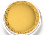 "Yellow Matte Eyeshadow - ""Daffodil"" - Vegan Mineral Eyeshadow Net Wt 2g Mineral Makeup Eye Color Pigment"