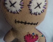 VOODOO Cutie Doll PLUSHIE Perfect Stocking Stuffer for Christmas Felt toy