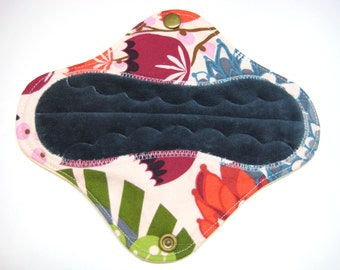 7 1/2 inch OBV or Minky and Flannel Mama Cloth Pad / Cloth Menstrual Pad /  Incontinence Pad - Extra Heavy Flow - Customize Yours