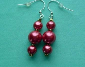 Pearl Pierced Earrings