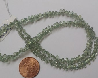 Aqua Green Madagascar Sapphire Drops