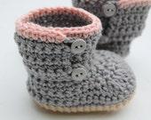 Baby Girl Boots, Crochet Baby Boots, Crochet Booties