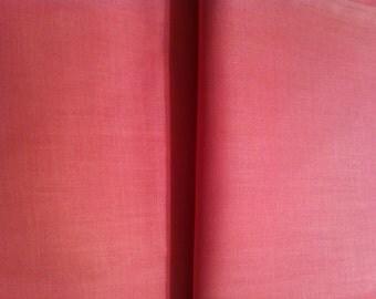 Cotton Fabric / Pink Cotton Fabric /  Vintage Fabric / Quilting Fabric / Vintage Pink Fabric / Pink Fabric / Baby Fabric / 1 Yard