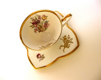 Vintage Alka Bavarian Cup and Saucer Set
