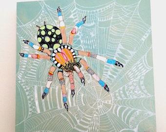 """Original painting """"spider"""""""