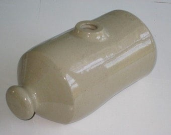 Antique Stoneware Foot Warmer Bed Warmer Hot Water Jug