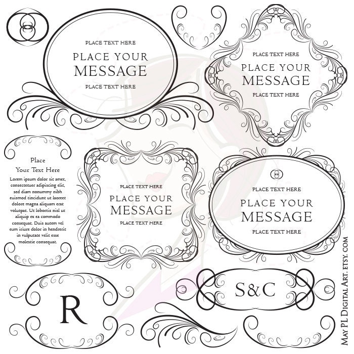 Decorative Design Png Design Page Decoration Png