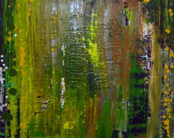 """Original Abstract Art Painting -""""you-gotta-get-the-ground-beneath-your-feet-partner-get-the-wind-behind-your-back"""""""