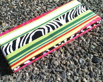Magic Wallet - Hint of Zebra and Stripes