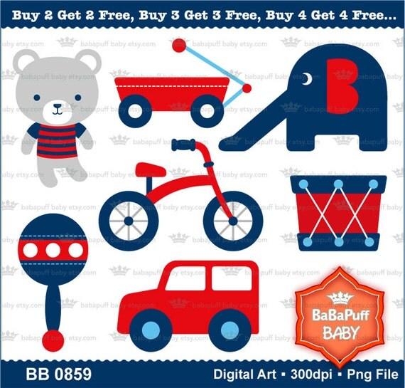buy 2 get 2 free digital bear and toy car clip art. Black Bedroom Furniture Sets. Home Design Ideas
