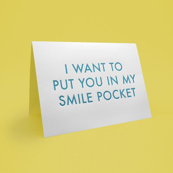 greeting card w envelope 5x7 letterpress style i want