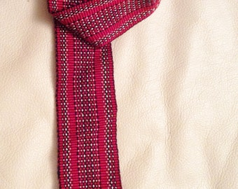 Woven Red Tie from the 70's.