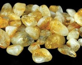 1 Lb Tumbled Citrine Stones