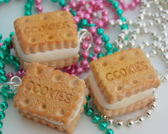 SALE-Cookie/Biscuit Necklace