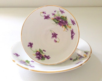 English Fine Bone China Stanley Tea Cup and Saucer Tea Party