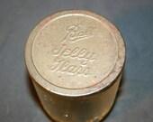 Ball Jelly Glass    Ball Lidded Glass    Ball Jelly Jar    Vintage Jelly Glass   Advertising Jar