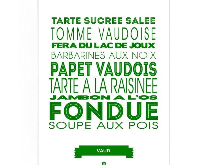 Poster Vaud Foodie