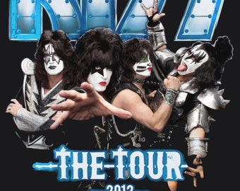 KISS The Tour 2012 Stand-Up Display With Concert Dates