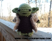 Yoda Amigurumi Doll with Robe