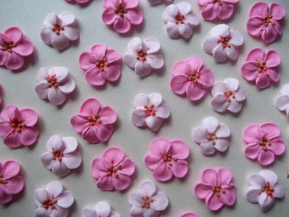 Cupcake Decorating Ideas With Royal Icing : Royal icing cherry blossoms Cake by SweetSarahsBoutique on ...