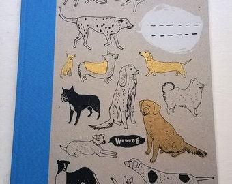 A4 Get More Exercise Book - hardback sketchbook