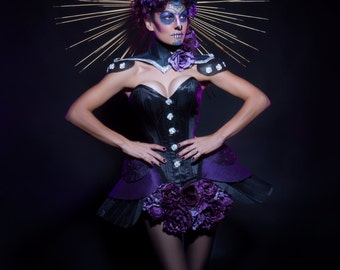 Day of the Dead Costume International Shipping by request