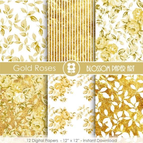 papel decorativo dorado papeles decorativos por