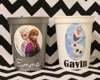 Personalized Frozen Cup