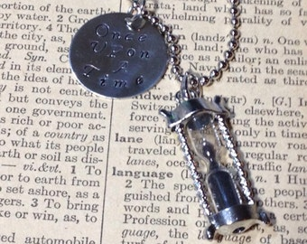 Once Upon A Time Hourglass Necklace