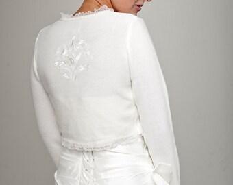 Wedding Jacket with Embroidery