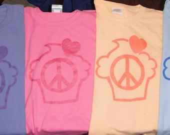 Peace, Love, Cupcake