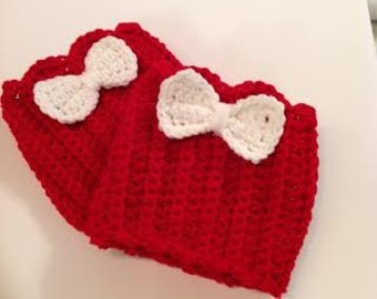 Kid's  Boot Cuffs w/ Bow or Button