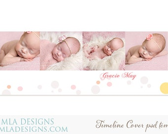 Timeline Cover PSD Template