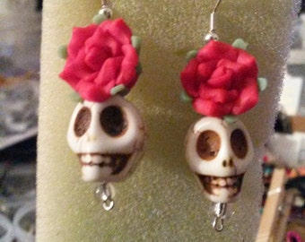 Day of Dead Earrings