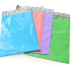 20 Color Pack 9x12 Poly Mailers, Flat Poly Mailing Shipping Bags, Purple, Pink, Colored Poly Mailer Shipping Envelope Poly Shipping Bag