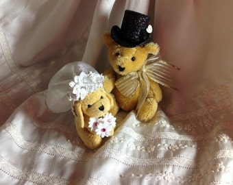 Wedding Cake Topper ~ Top Hat ~ Custom Size ~ Custom Color ~ Handmade ~ Ready to Ship