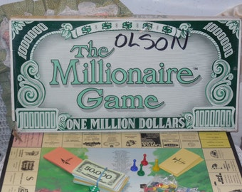 The Millionaire Board Game (1984) :)