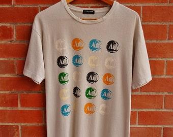 Rare ANDY WARHOLS art pop art t-shirt